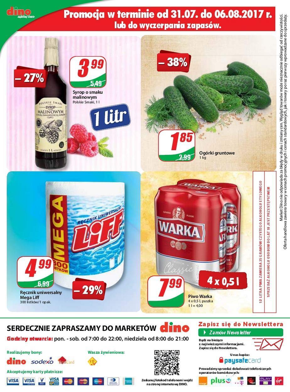 Gazetka promocyjna DINO do 08/08/2017 str.11