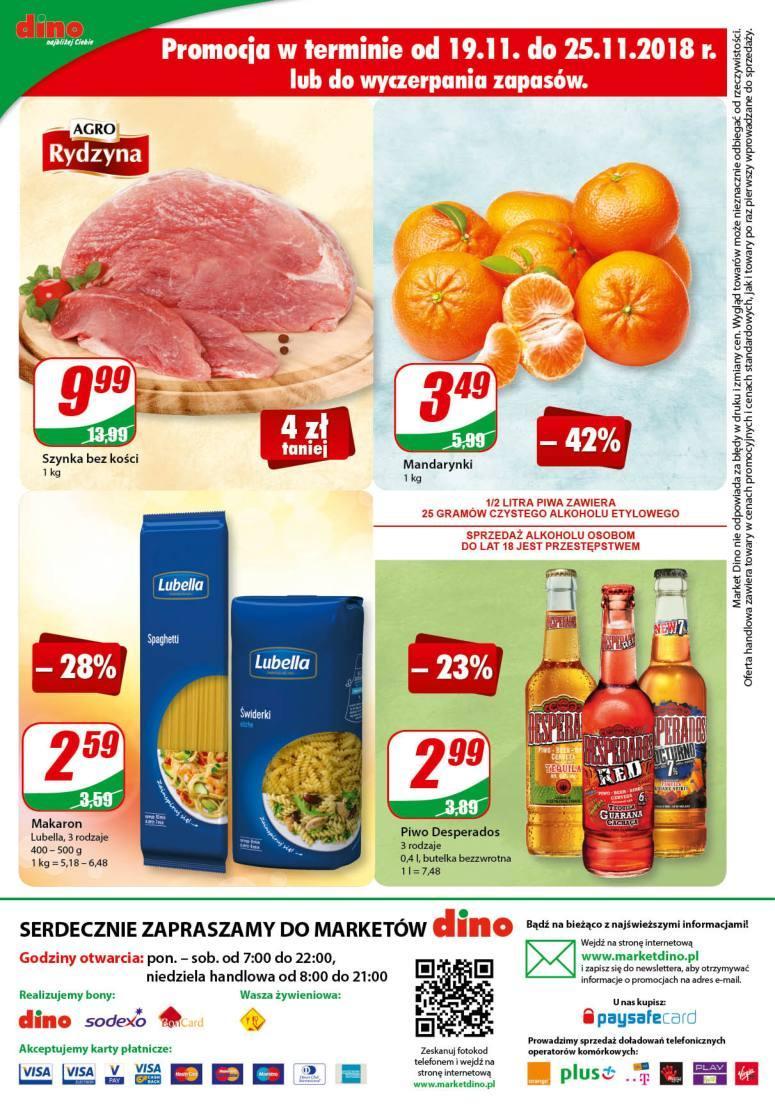 Gazetka promocyjna DINO do 27/11/2018 str.12