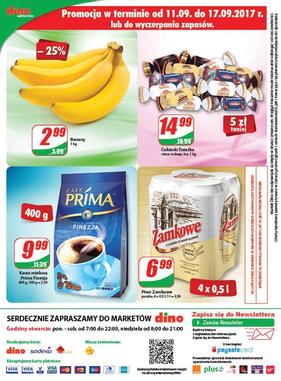 Gazetka promocyjna DINO do 19/09/2017 str.11
