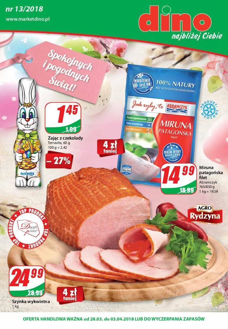 Gazetka promocyjna DINO do 03/04/2018 str.0