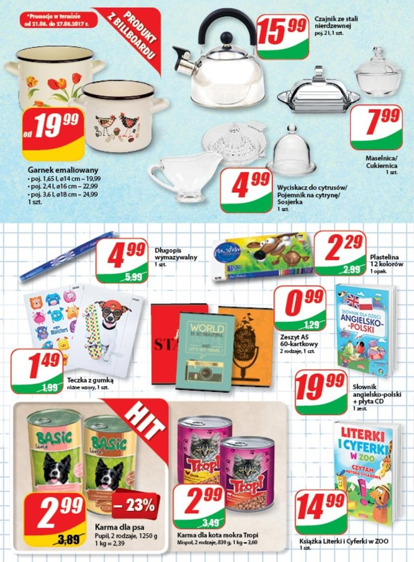 Gazetka promocyjna DINO do 29/08/2017 str.9