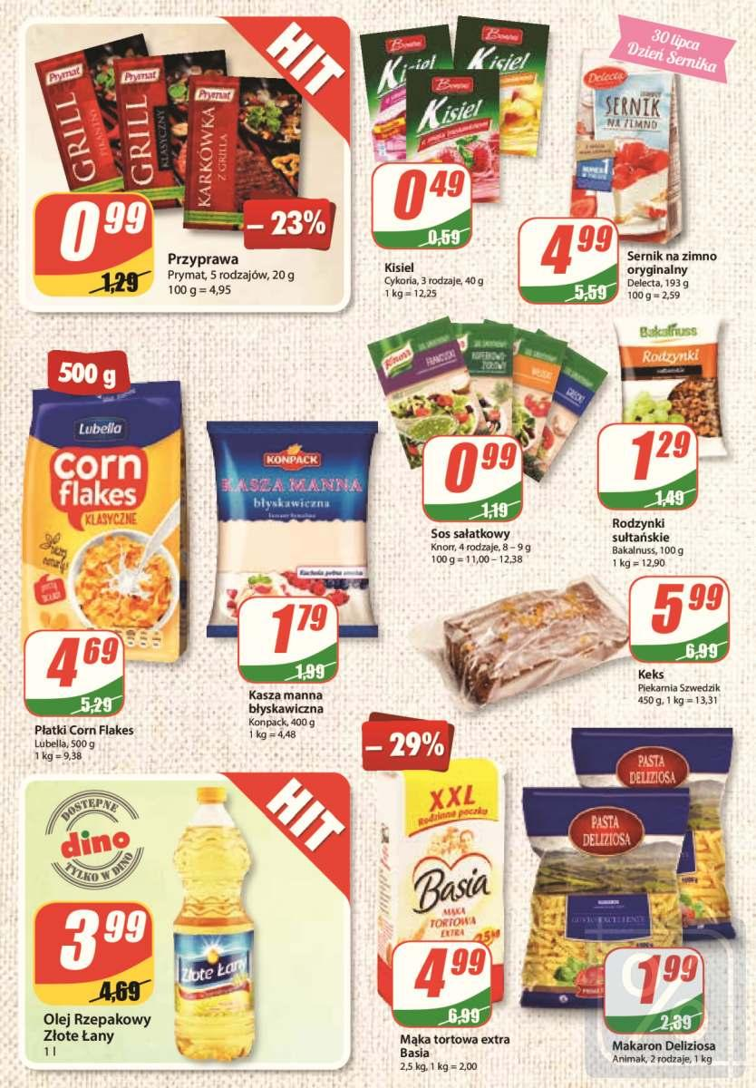 Gazetka promocyjna DINO do 31/07/2018 str.5
