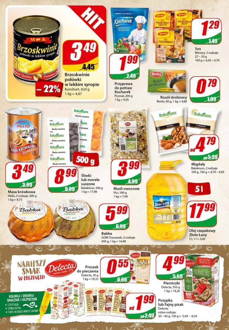 Gazetka promocyjna DINO do 04/12/2018 str.6
