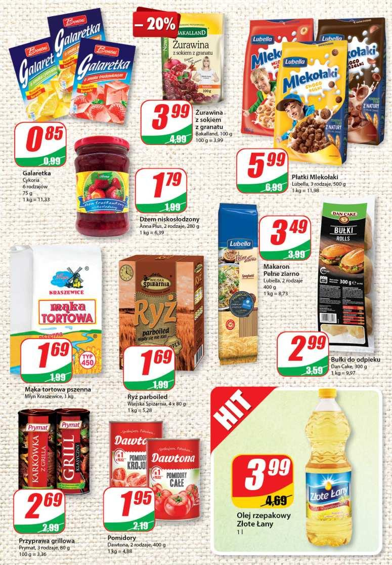 Gazetka promocyjna DINO do 26/06/2018 str.4