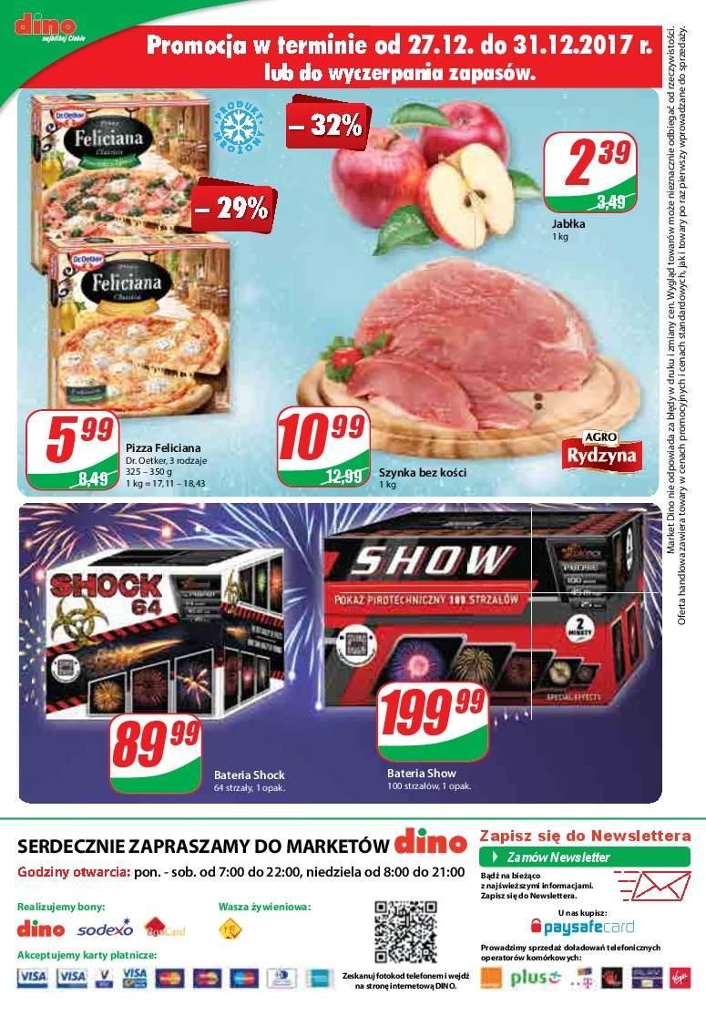 Gazetka promocyjna DINO do 02/01/2018 str.11