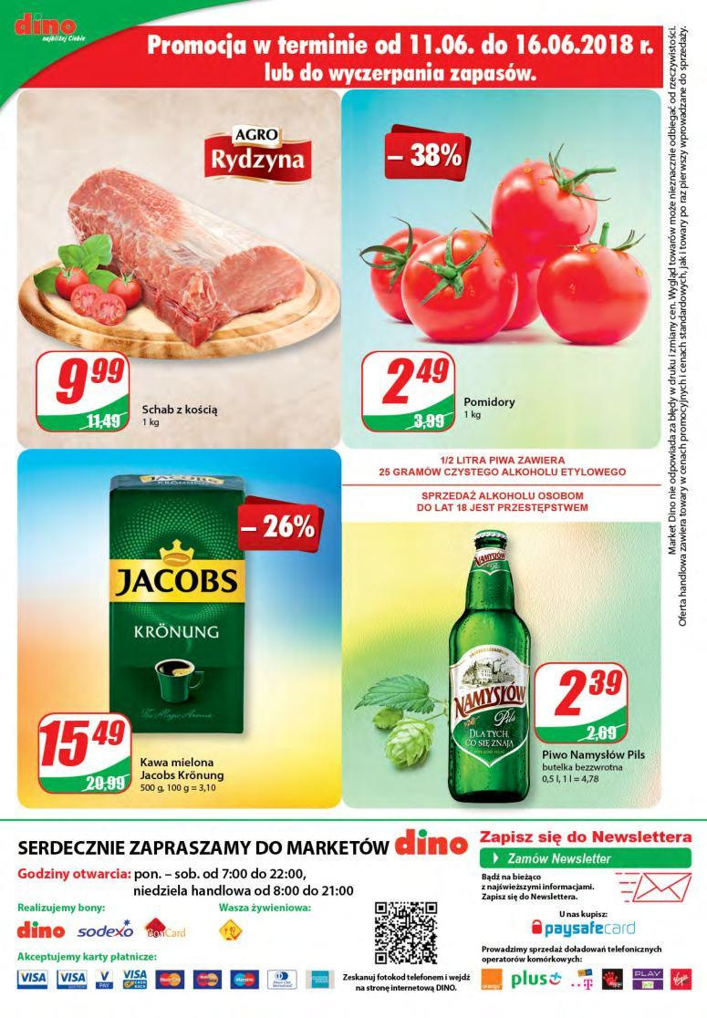 Gazetka promocyjna DINO do 19/06/2018 str.12