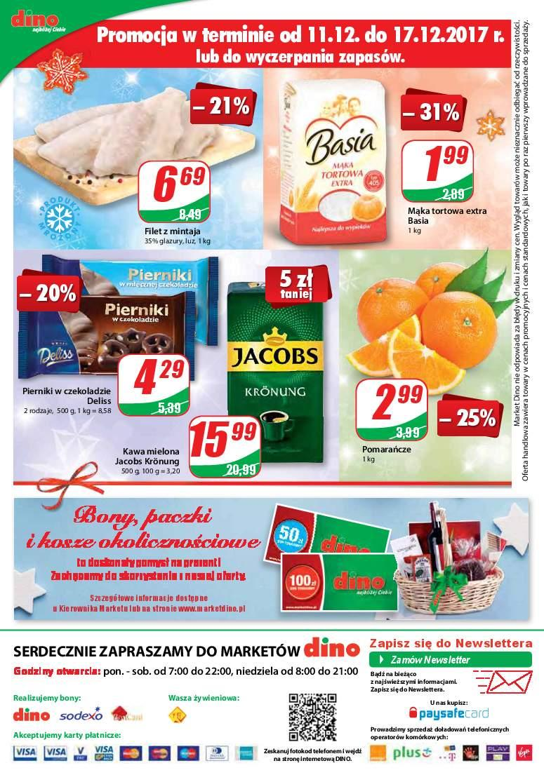 Gazetka promocyjna DINO do 19/12/2017 str.15