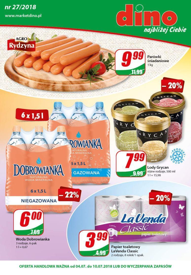 Gazetka promocyjna DINO do 10/07/2018 str.0