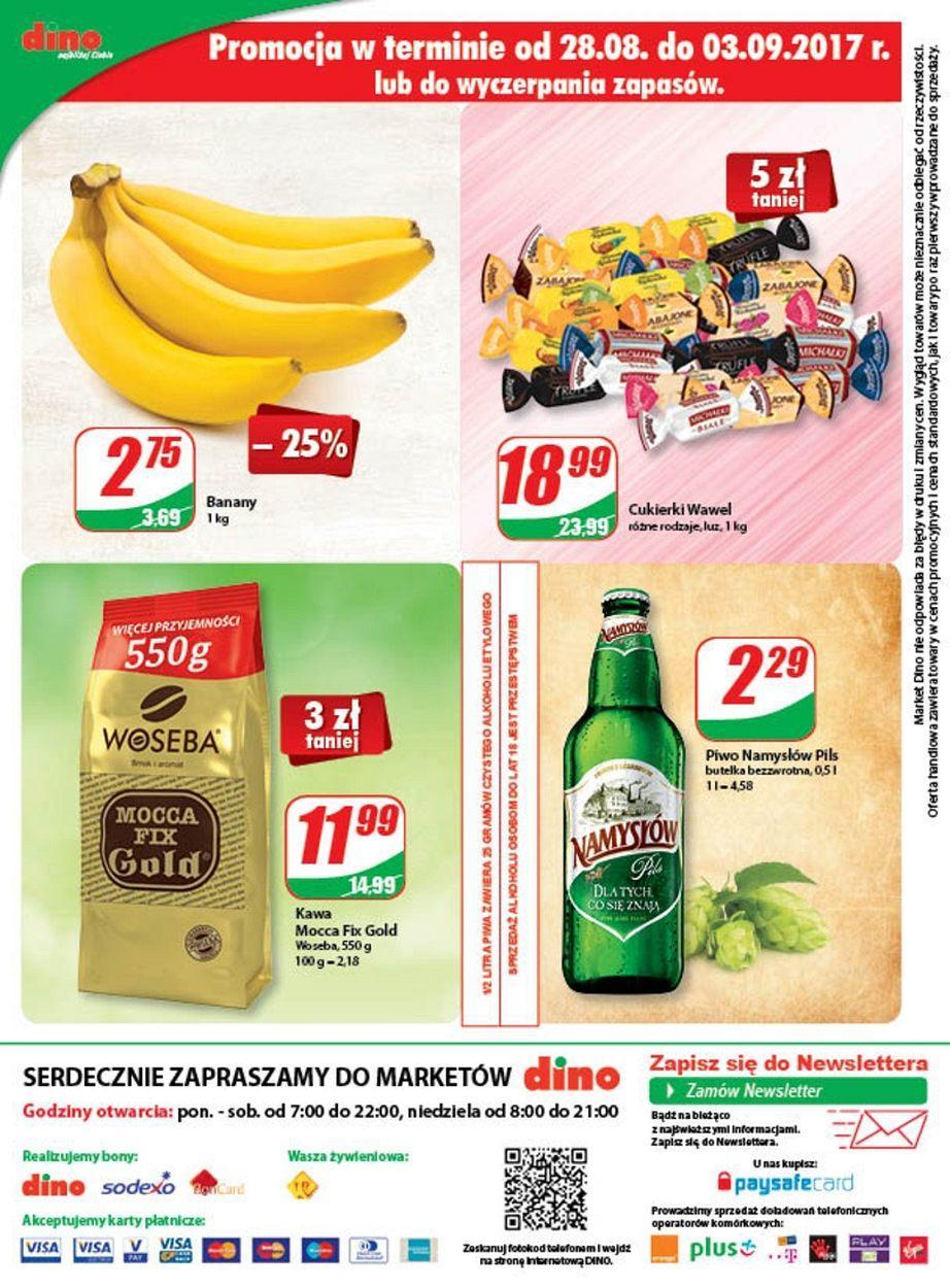 Gazetka promocyjna DINO do 05/09/2017 str.11