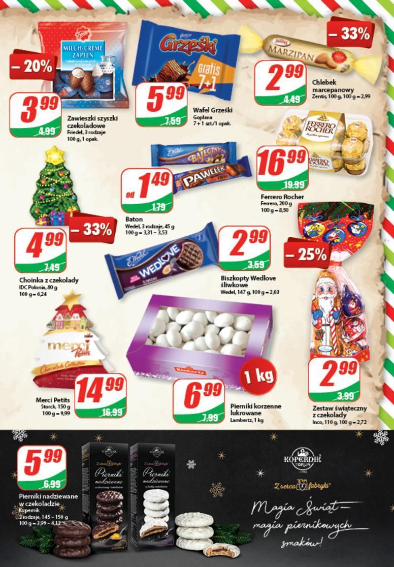 Gazetka promocyjna DINO do 26/12/2017 str.8