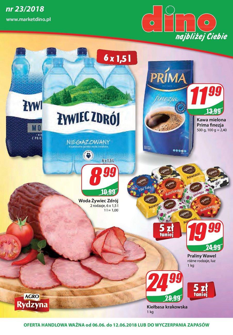 Gazetka promocyjna DINO do 12/06/2018 str.0