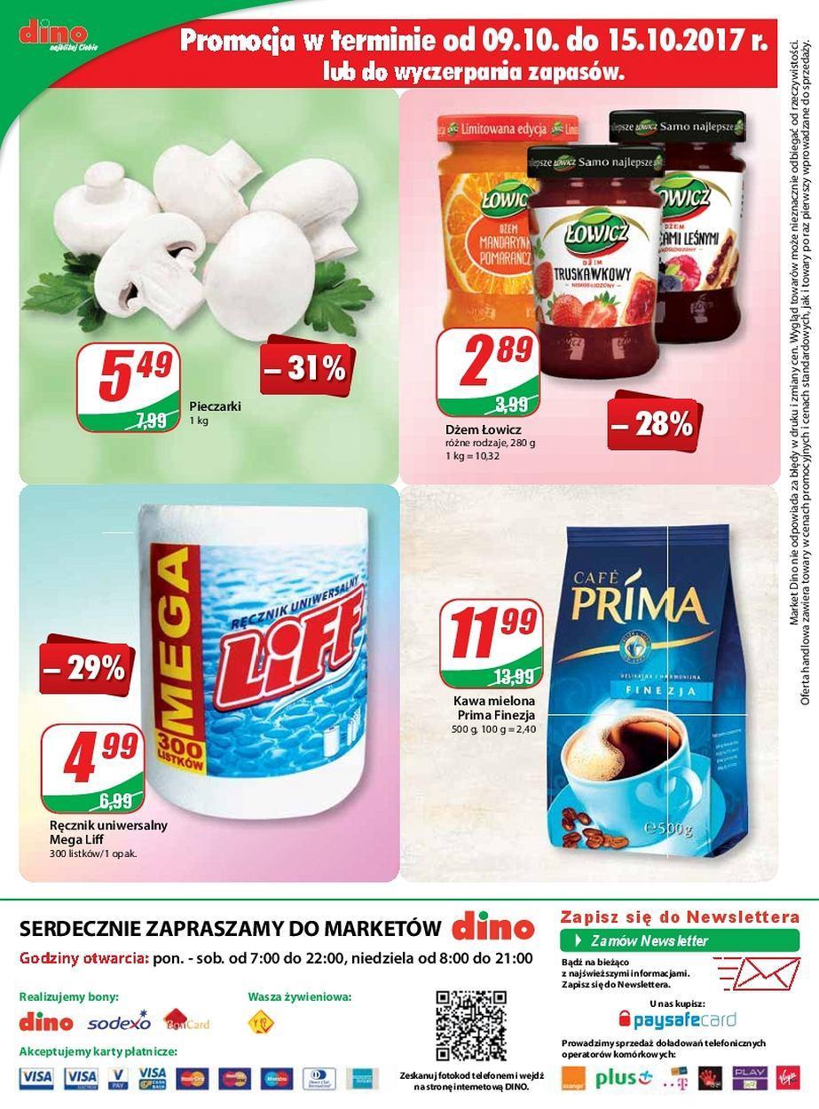 Gazetka promocyjna DINO do 17/10/2017 str.11