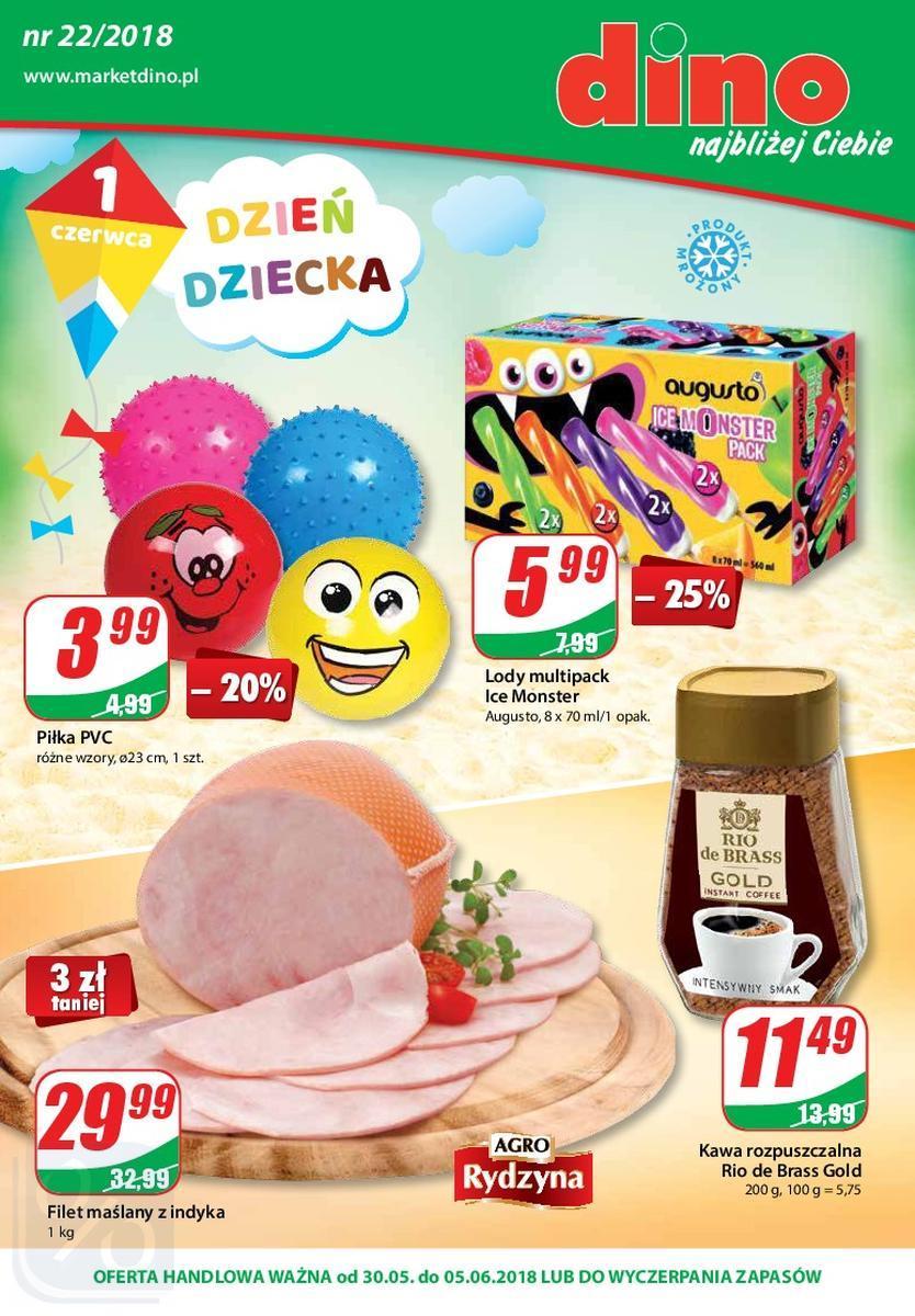 Gazetka promocyjna DINO do 05/06/2018 str.0