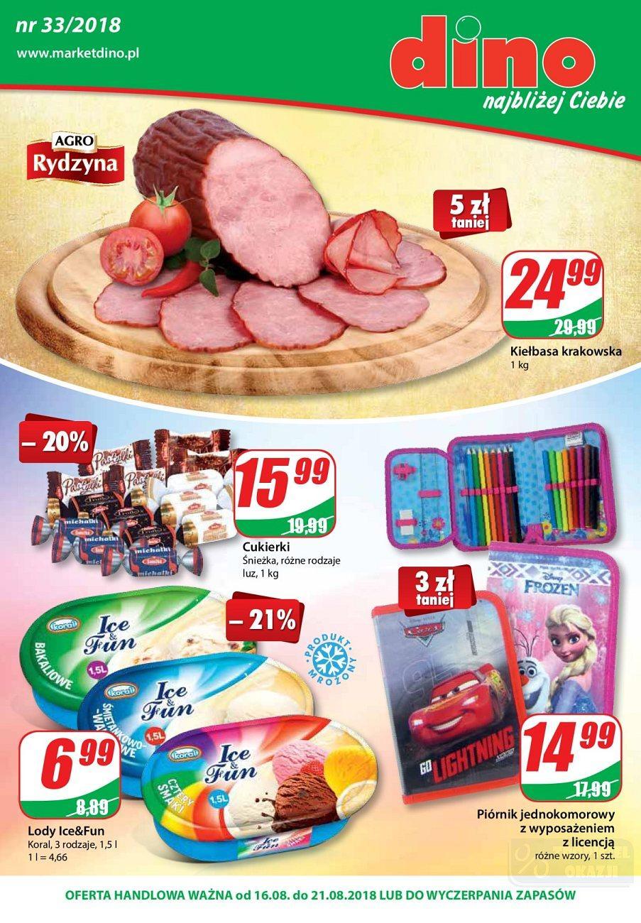 Gazetka promocyjna DINO do 21/08/2018 str.0