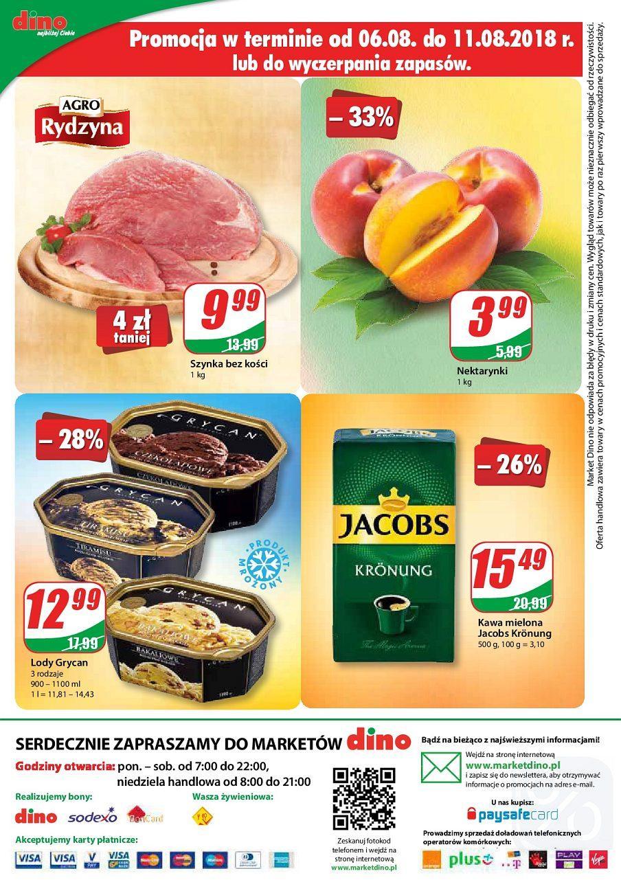 Gazetka promocyjna DINO do 14/08/2018 str.12