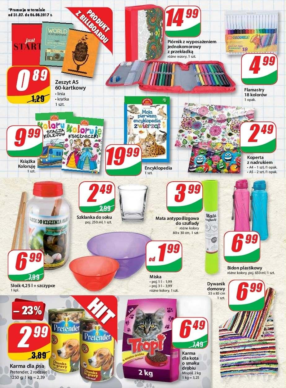 Gazetka promocyjna DINO do 08/08/2017 str.9