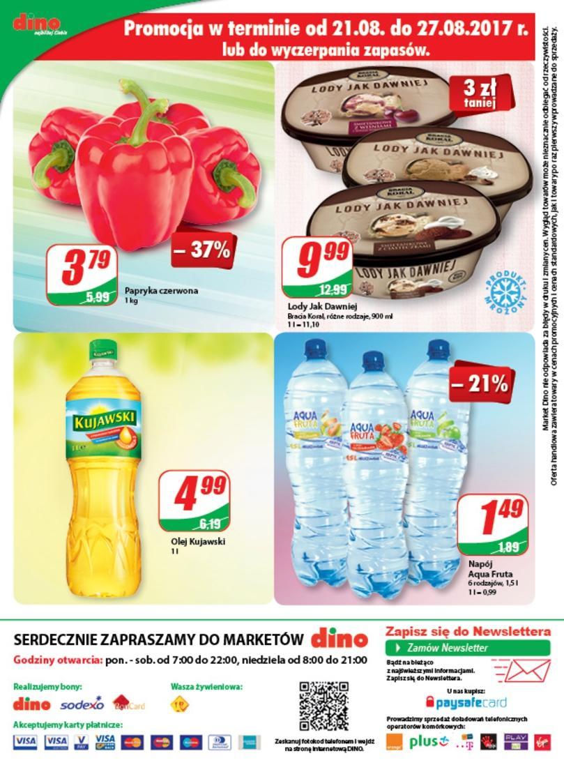 Gazetka promocyjna DINO do 29/08/2017 str.11