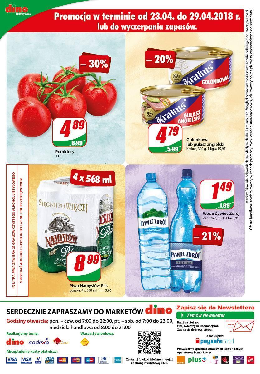 Gazetka promocyjna DINO do 30/04/2018 str.11