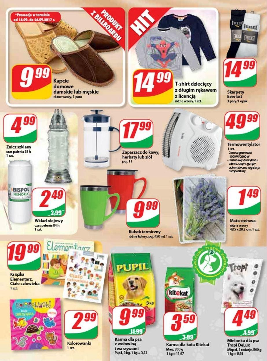 Gazetka promocyjna DINO do 26/09/2017 str.9