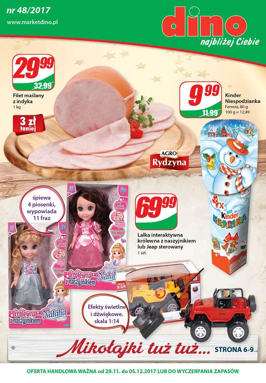 Gazetka promocyjna DINO do 05/12/2017 str.0