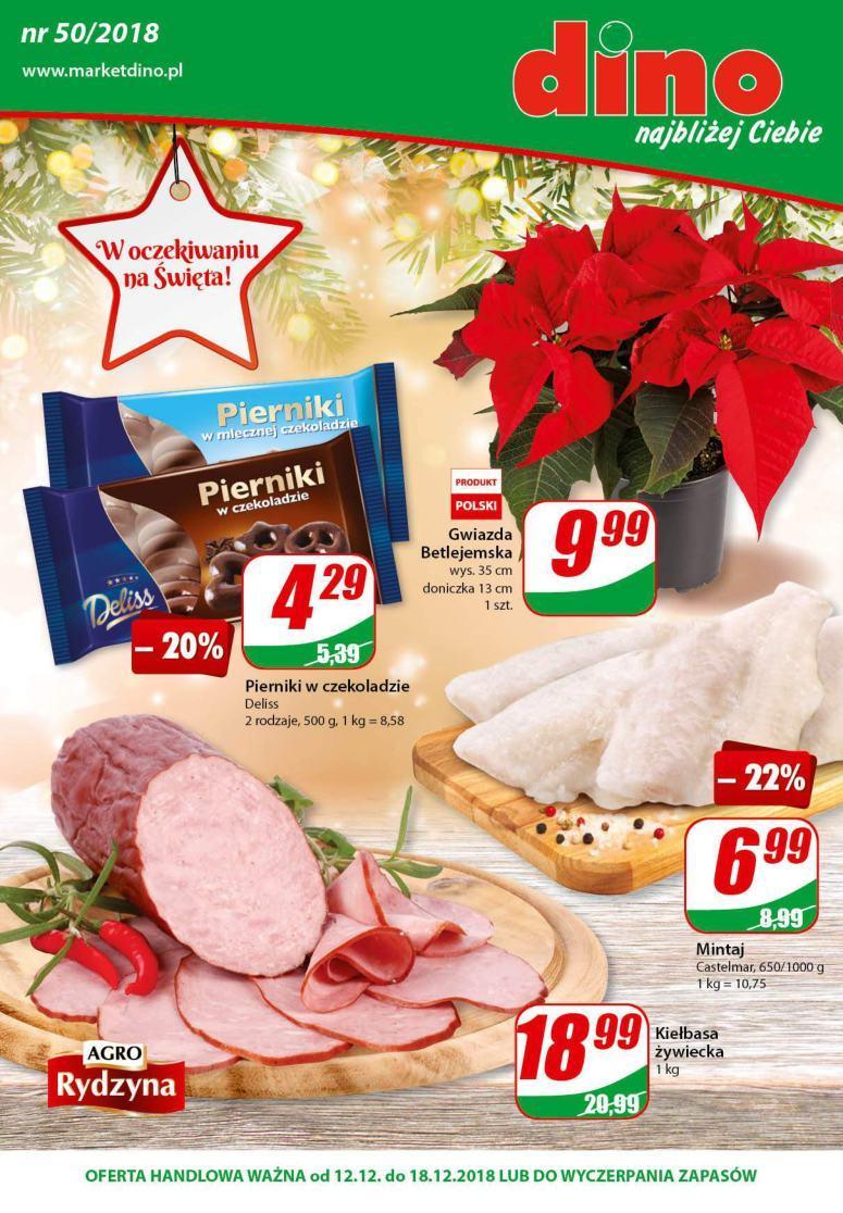 Gazetka promocyjna DINO do 18/12/2018 str.0