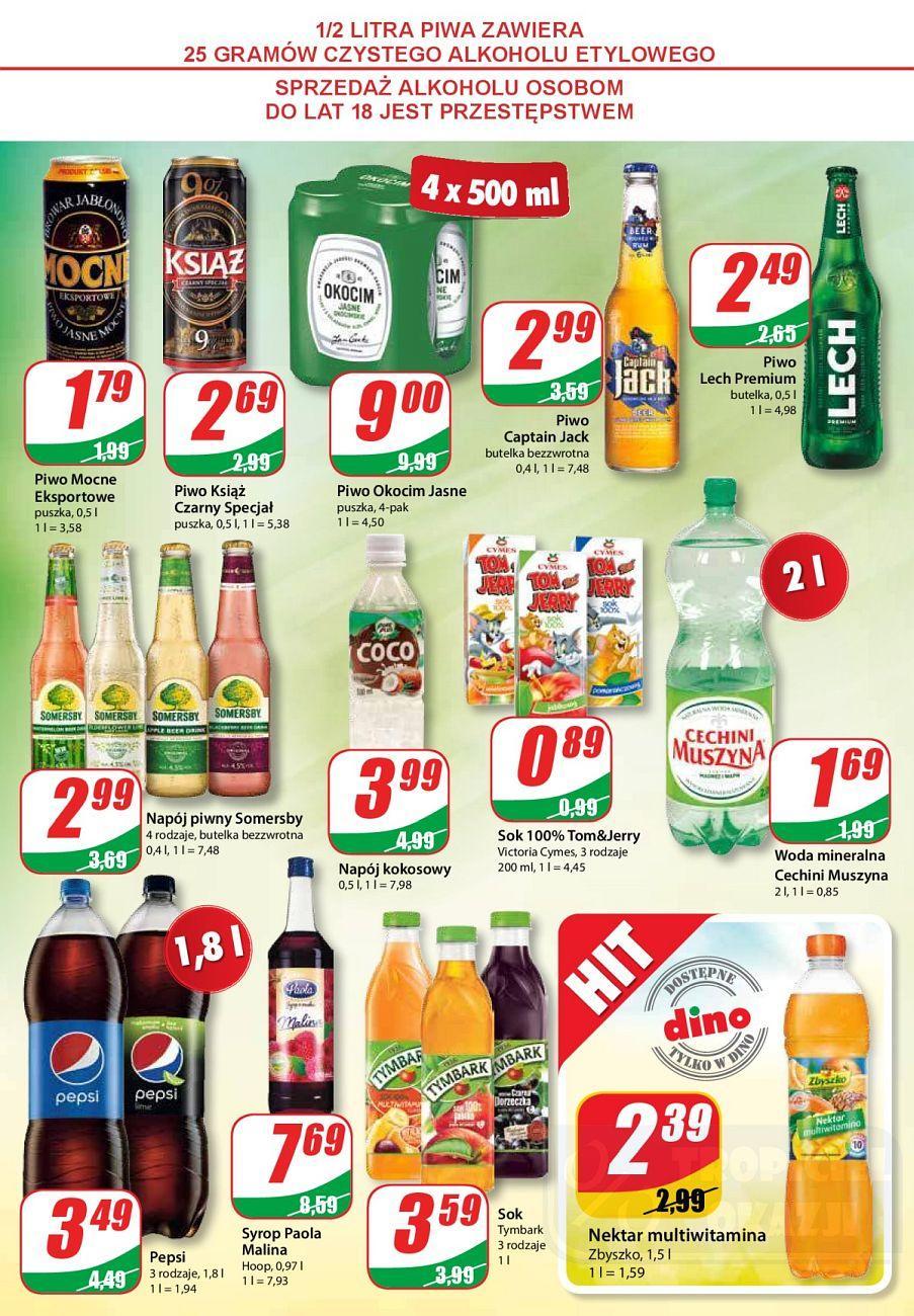 Gazetka promocyjna DINO do 28/08/2018 str.6
