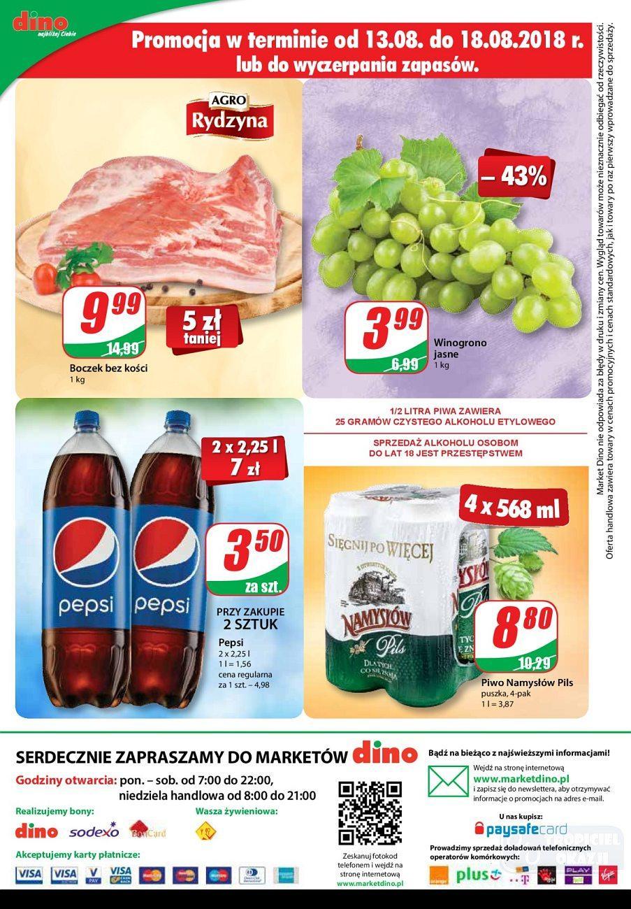 Gazetka promocyjna DINO do 21/08/2018 str.11