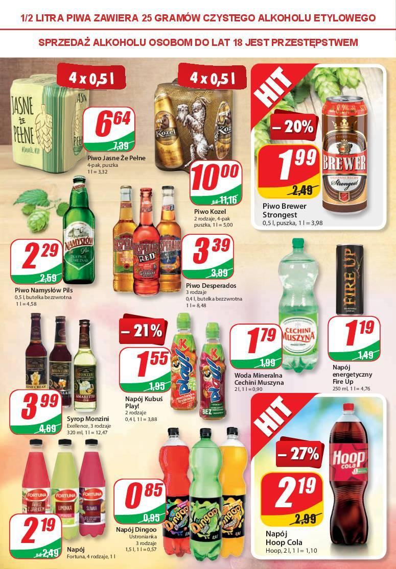 Gazetka promocyjna DINO do 23/10/2018 str.8