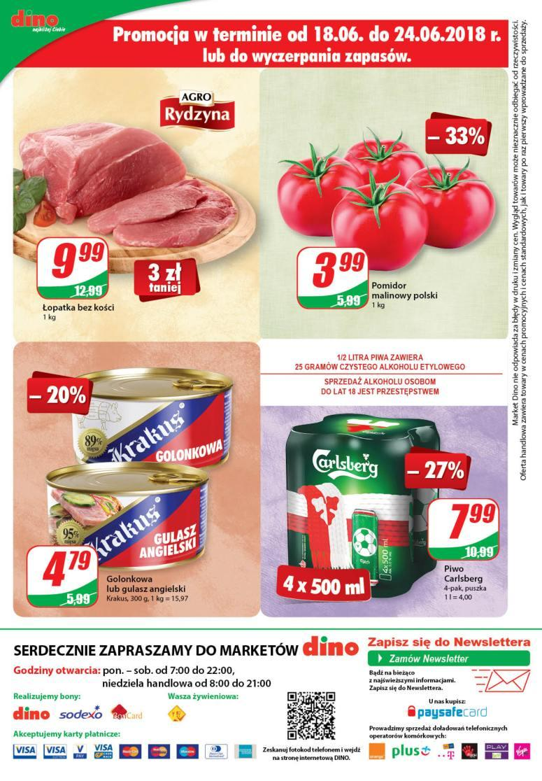 Gazetka promocyjna DINO do 26/06/2018 str.11