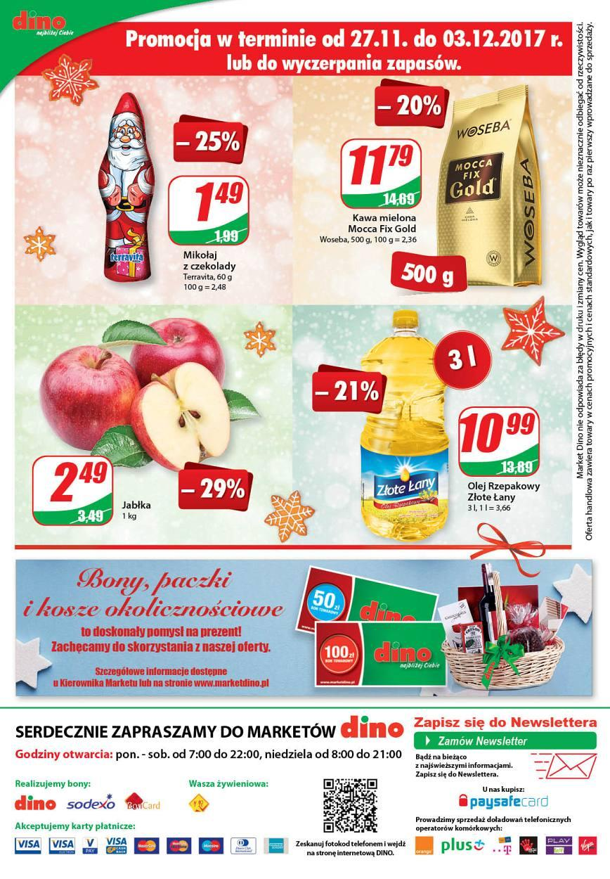 Gazetka promocyjna DINO do 05/12/2017 str.15