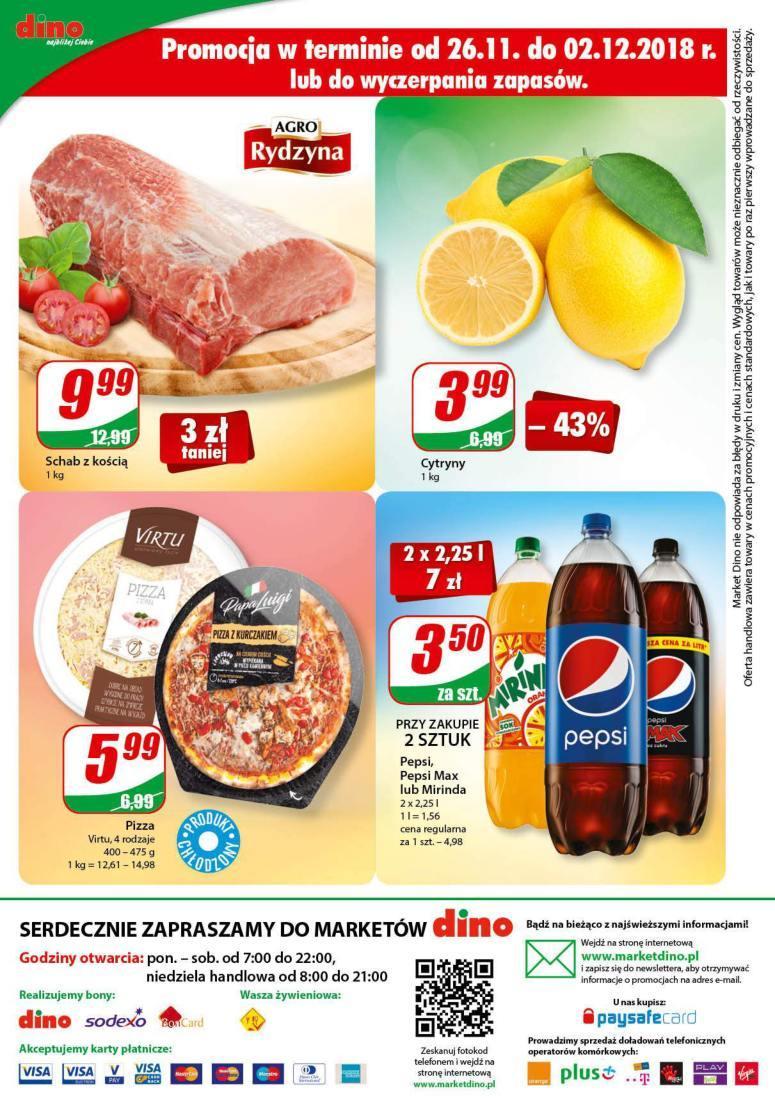 Gazetka promocyjna DINO do 04/12/2018 str.16