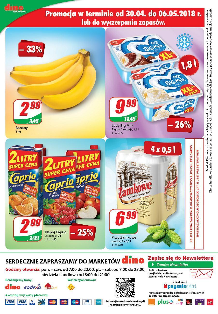 Gazetka promocyjna DINO do 08/05/2018 str.11