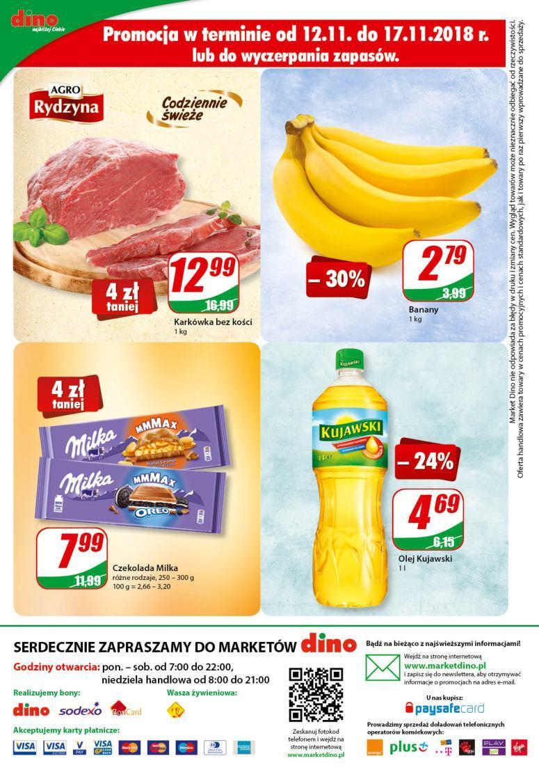 Gazetka promocyjna DINO do 20/11/2018 str.11