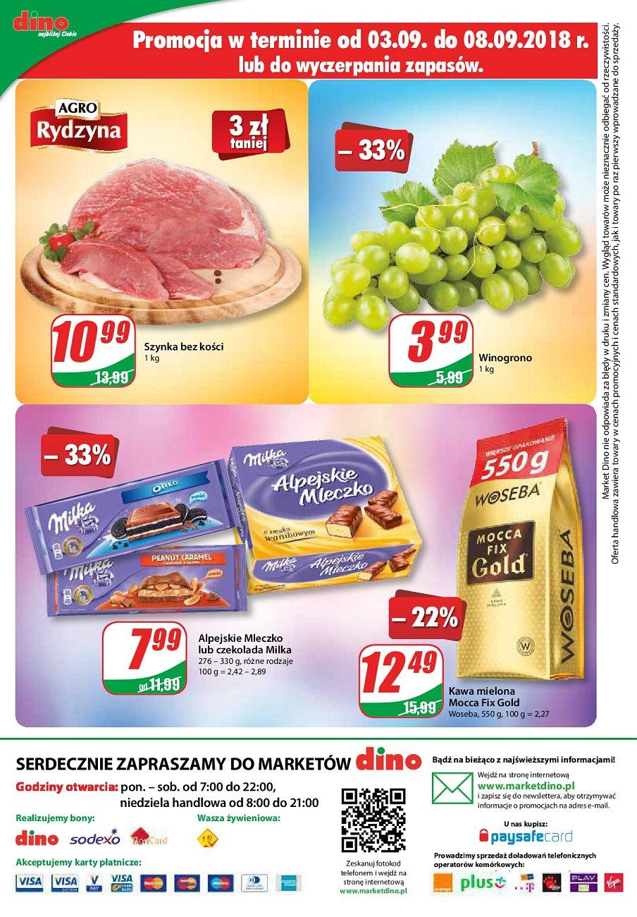 Gazetka promocyjna DINO do 11/09/2018 str.12