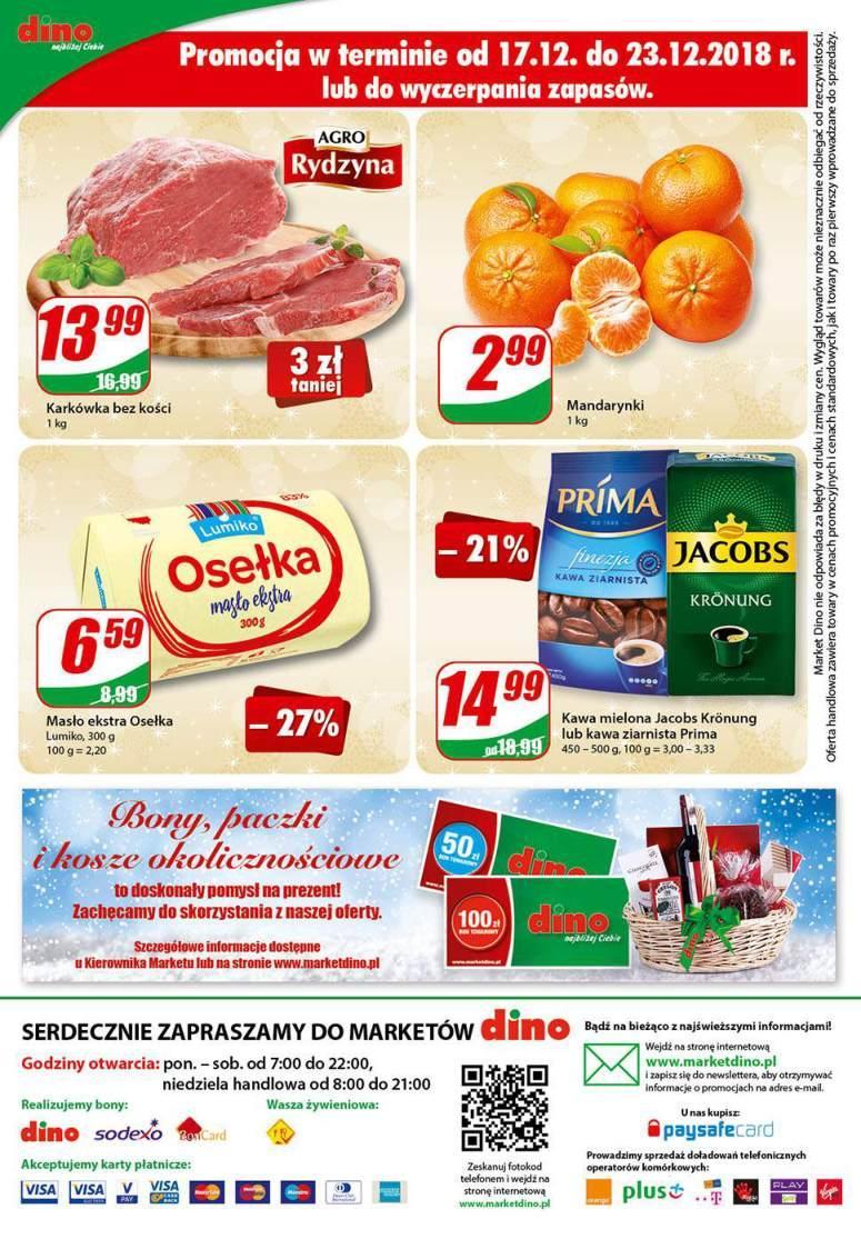 Gazetka promocyjna DINO do 24/12/2018 str.15