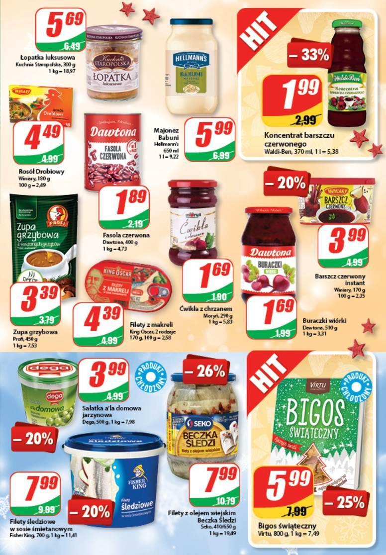 Gazetka promocyjna DINO do 26/12/2017 str.4