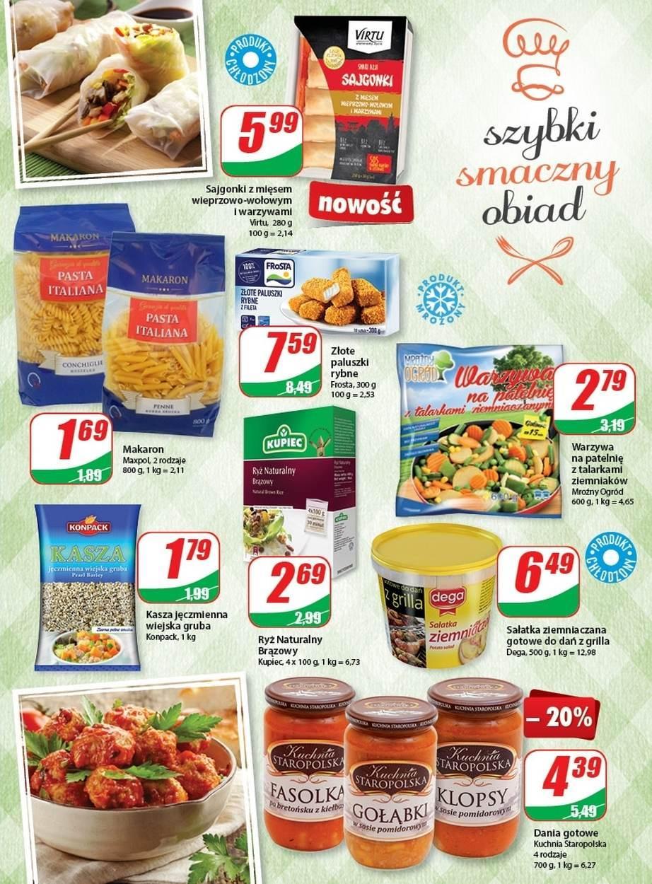Gazetka promocyjna DINO do 18/07/2017 str.4