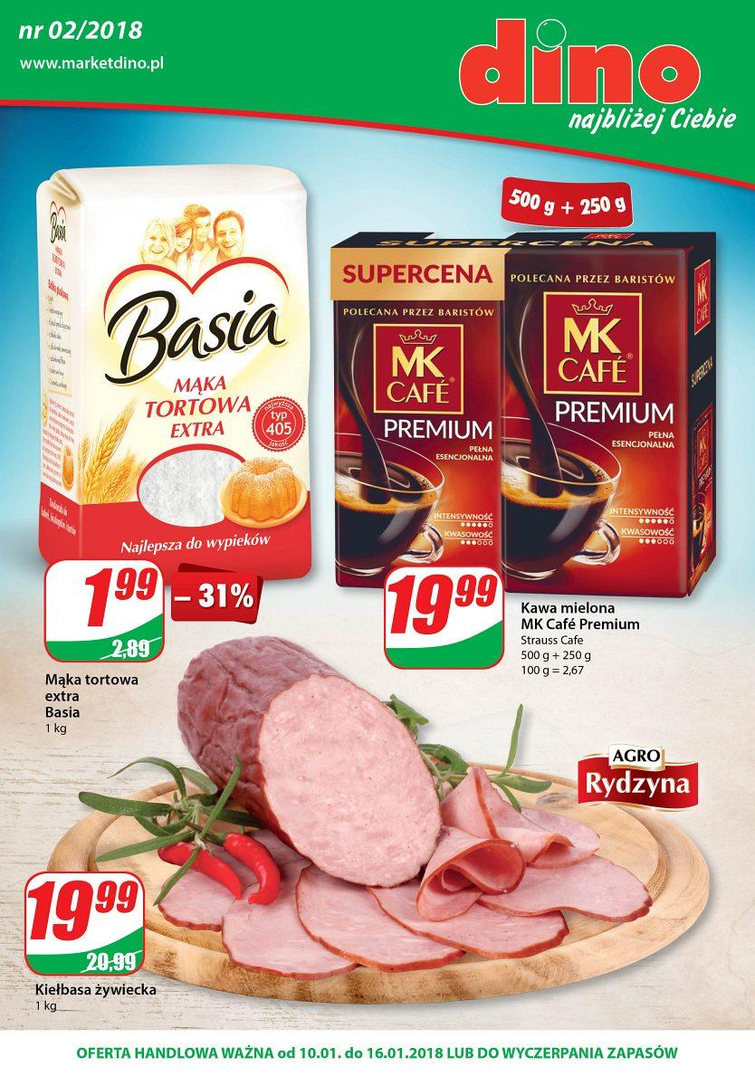 Gazetka promocyjna DINO do 16/01/2018 str.0