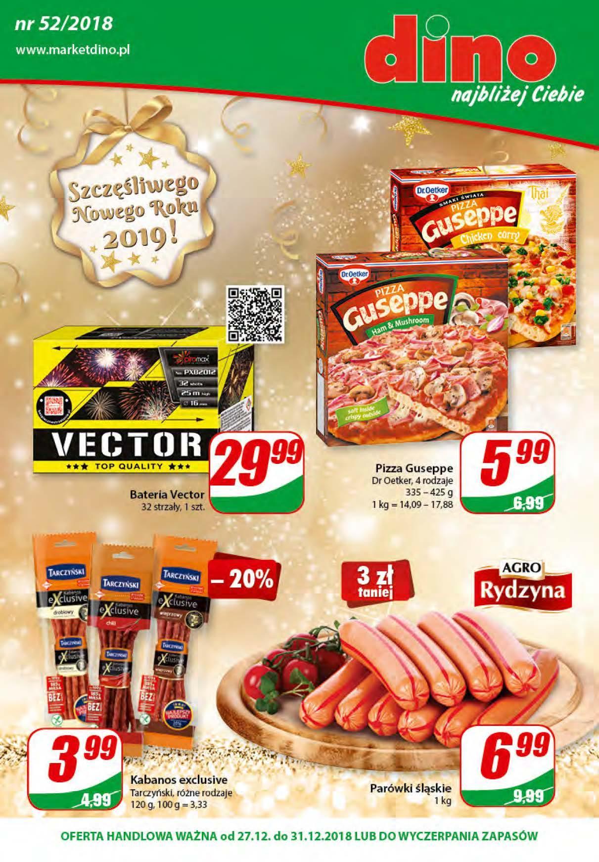 Gazetka promocyjna DINO do 31/12/2018 str.1