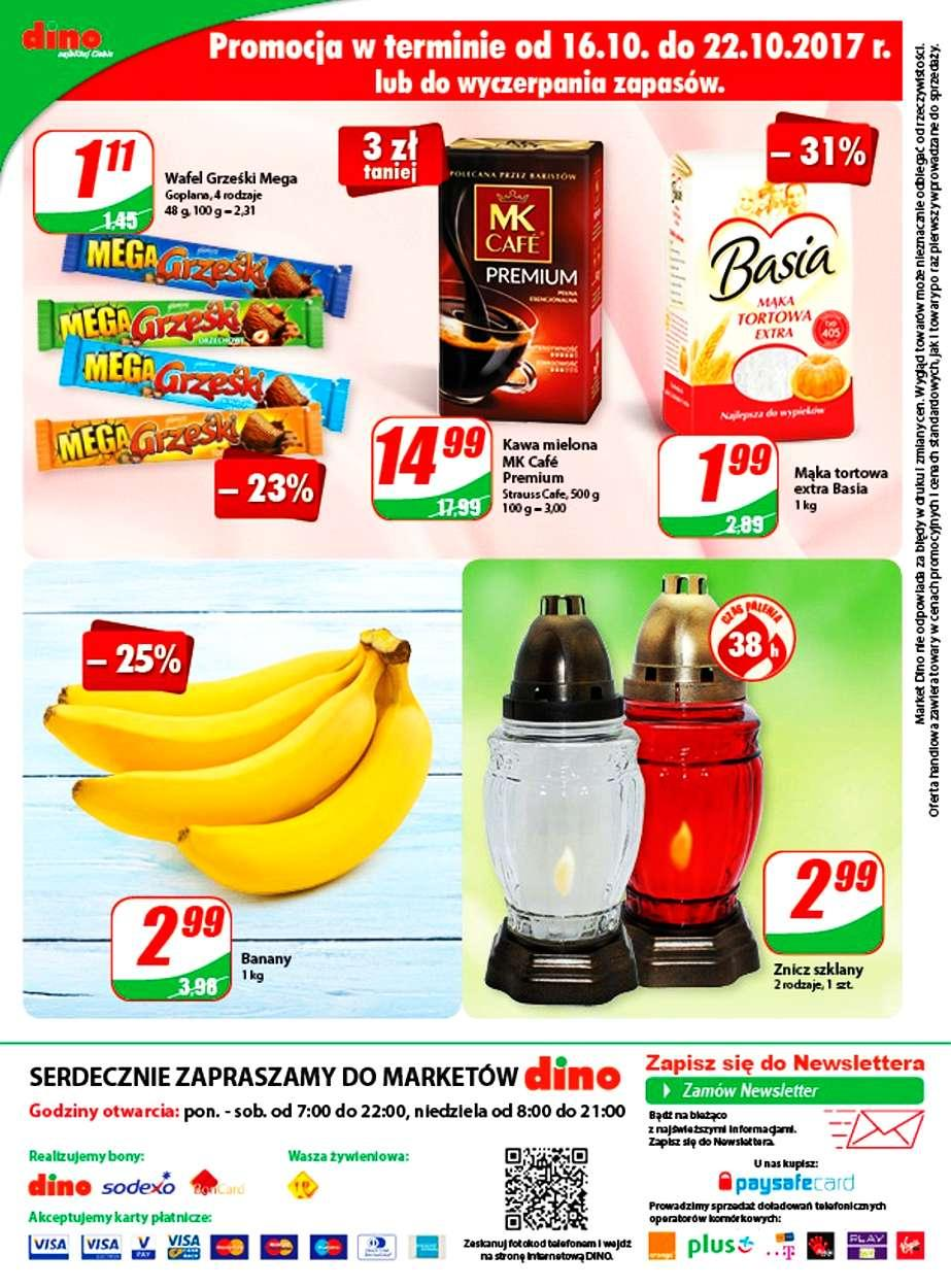 Gazetka promocyjna DINO do 24/10/2017 str.11