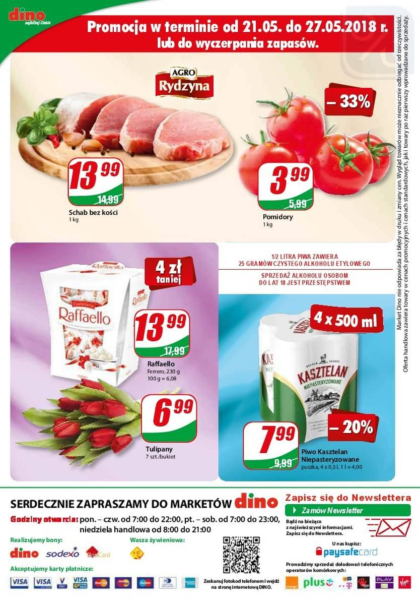 Gazetka promocyjna DINO do 29/05/2018 str.11