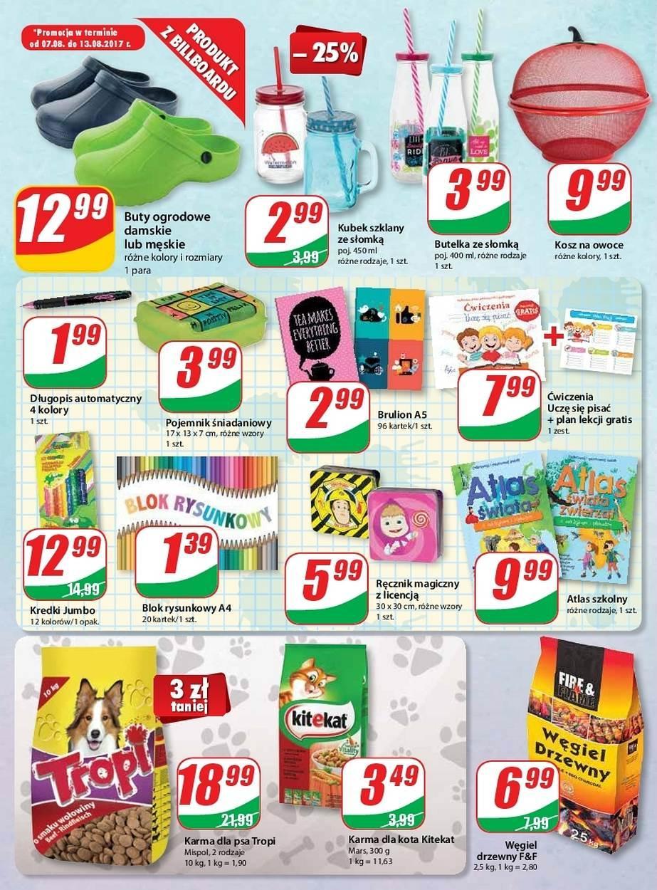 Gazetka promocyjna DINO do 14/08/2017 str.9