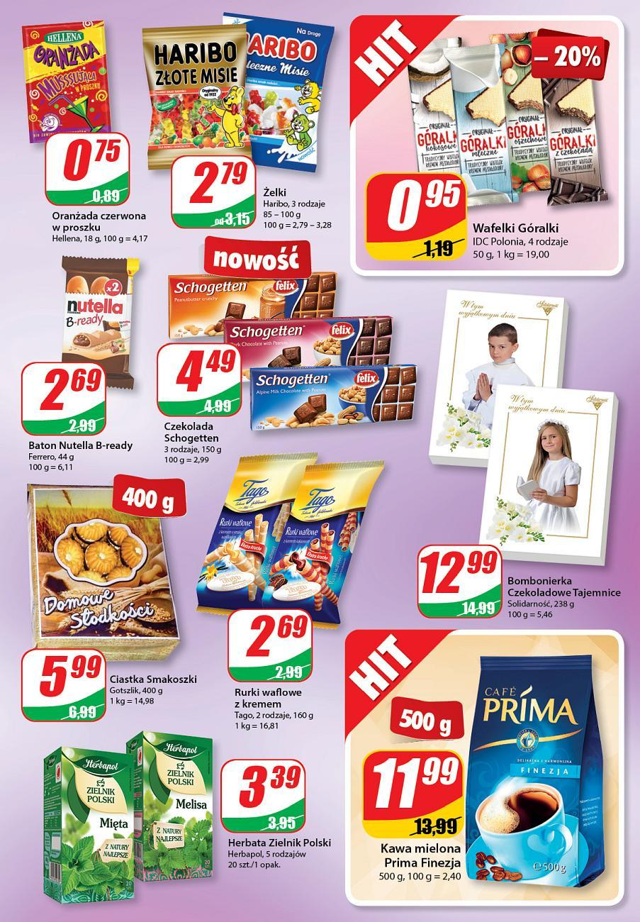Gazetka promocyjna DINO do 08/05/2018 str.6