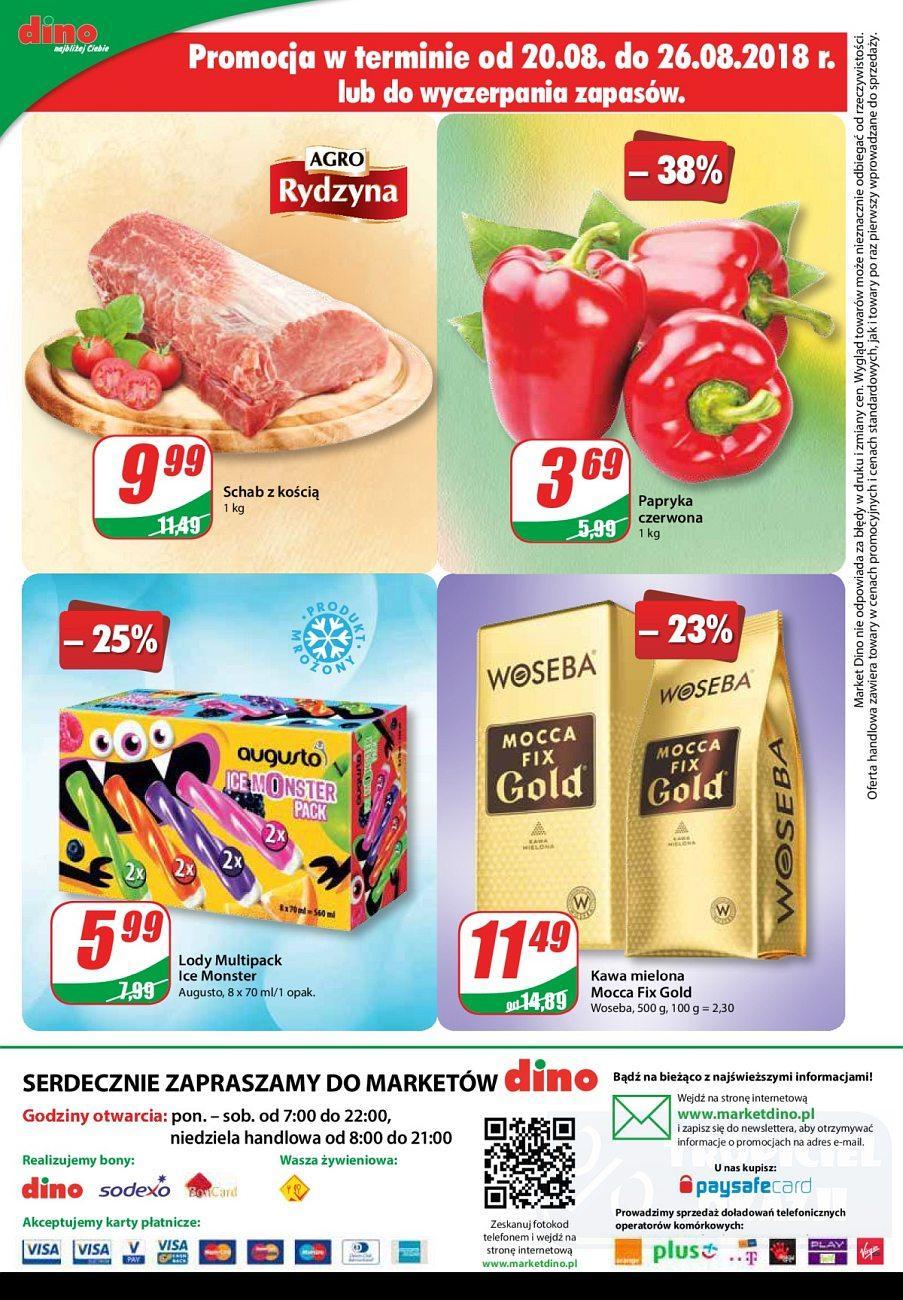 Gazetka promocyjna DINO do 28/08/2018 str.11