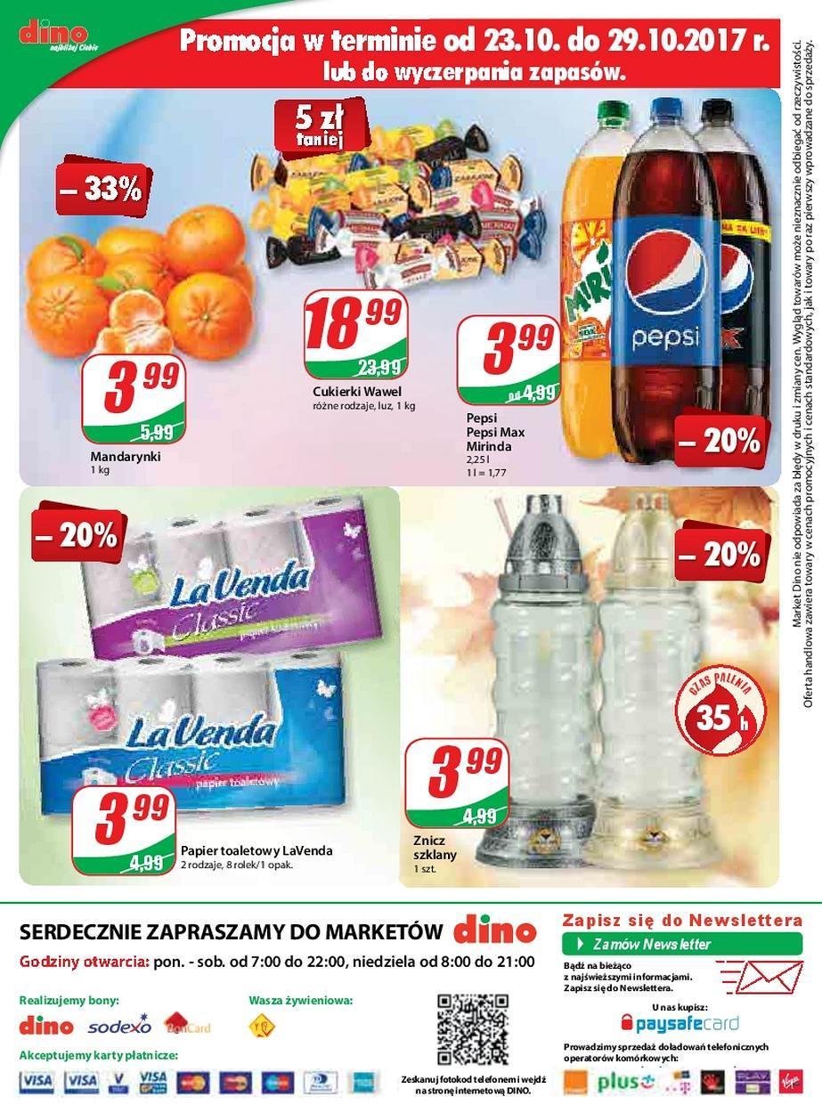 Gazetka promocyjna DINO do 31/10/2017 str.11