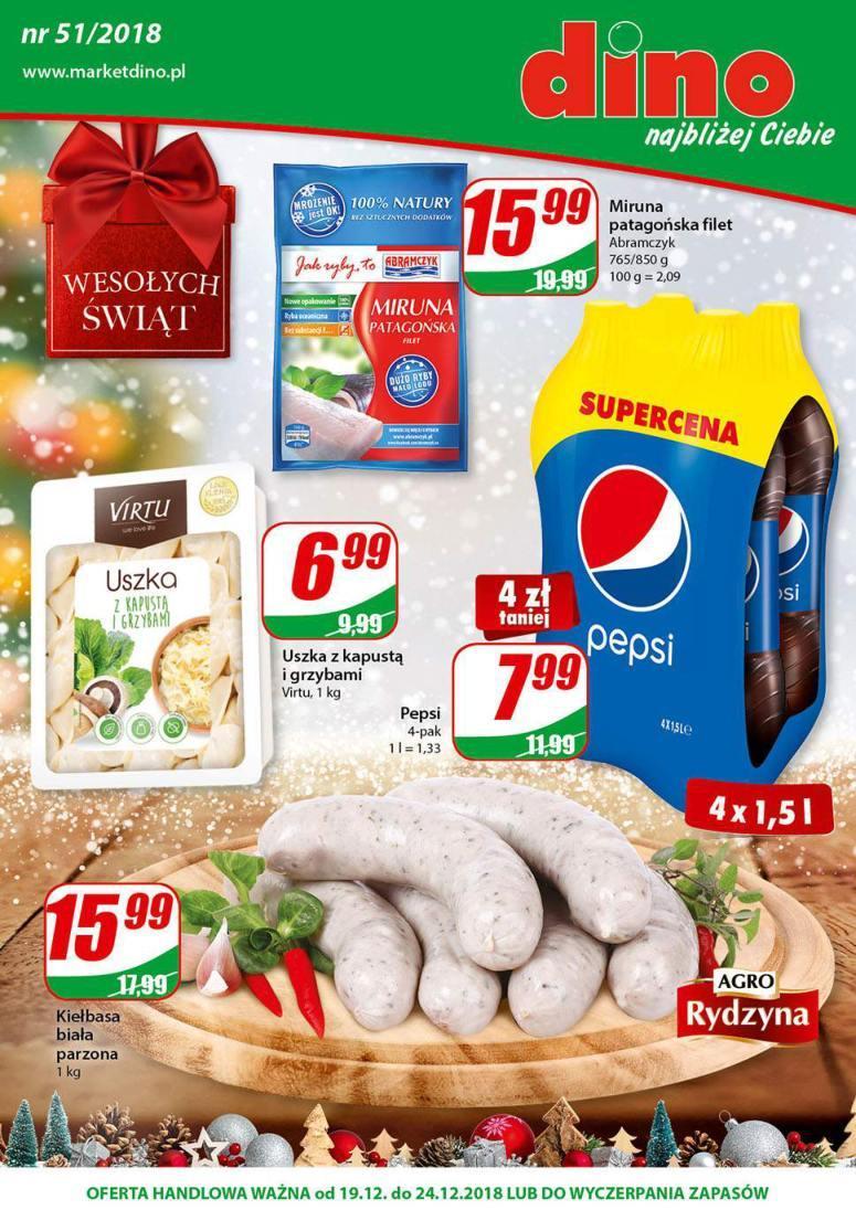 Gazetka promocyjna DINO do 24/12/2018 str.0
