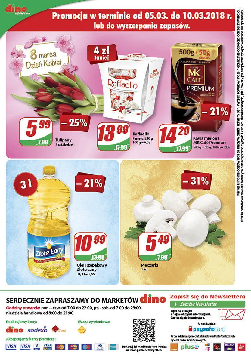 Gazetka promocyjna DINO do 13/03/2018 str.15