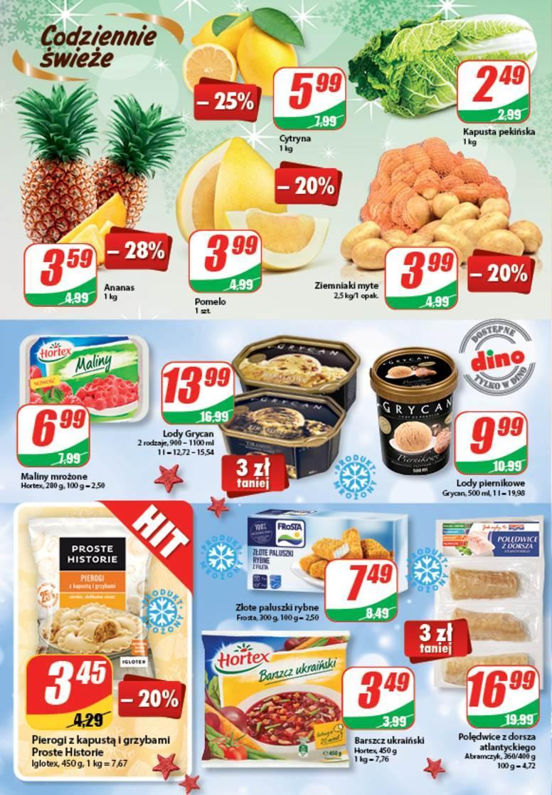 Gazetka promocyjna DINO do 26/12/2017 str.3