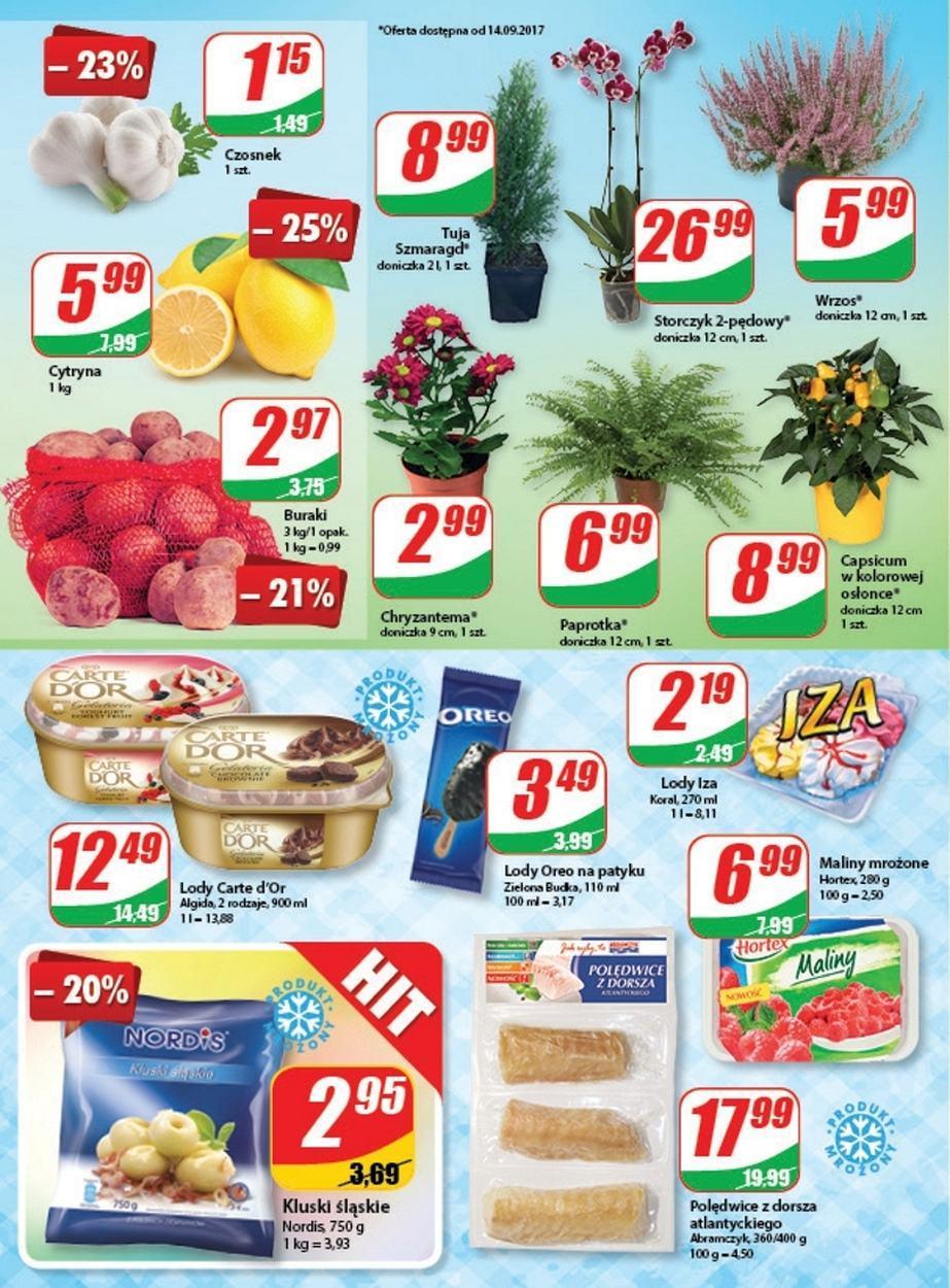 Gazetka promocyjna DINO do 19/09/2017 str.3