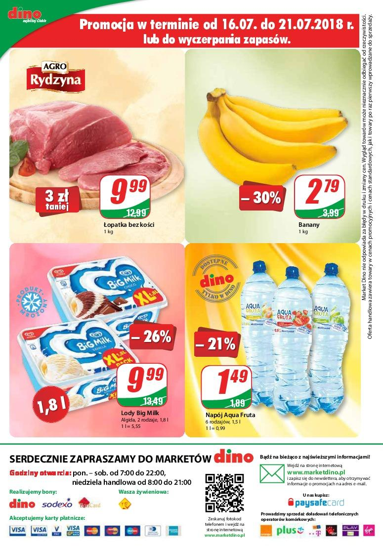 Gazetka promocyjna DINO do 24/07/2018 str.11